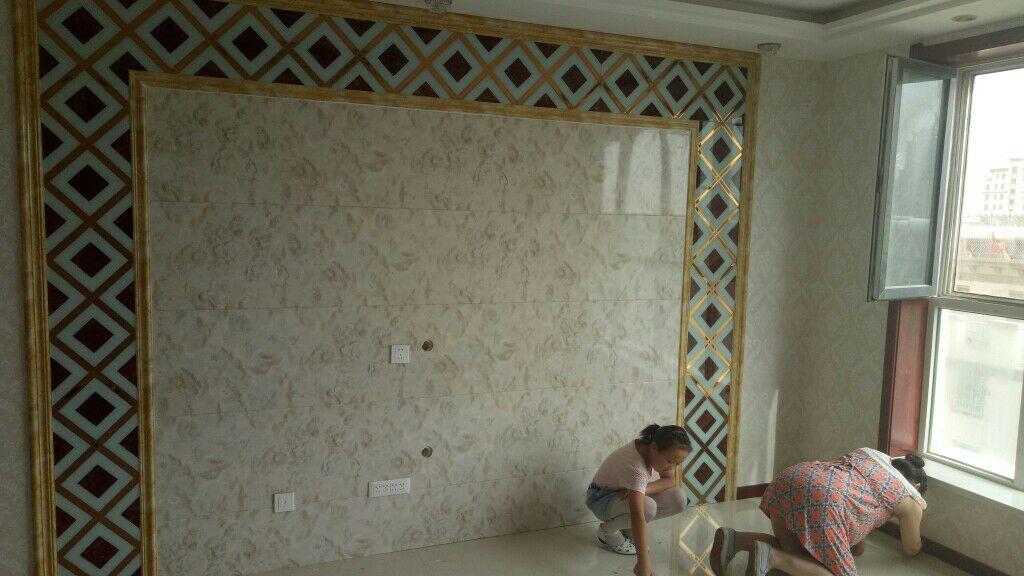 酒泉御品居多彩集成墻板,承接室內外裝修