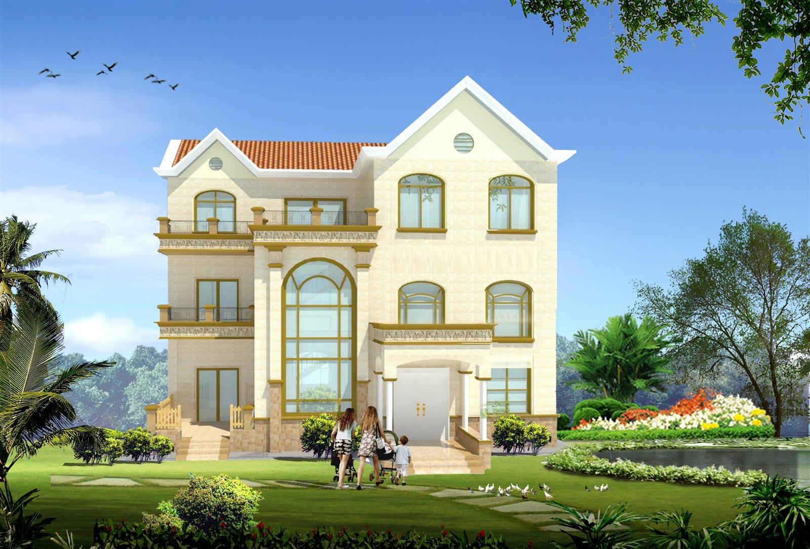 最美乡村别墅设计图展示