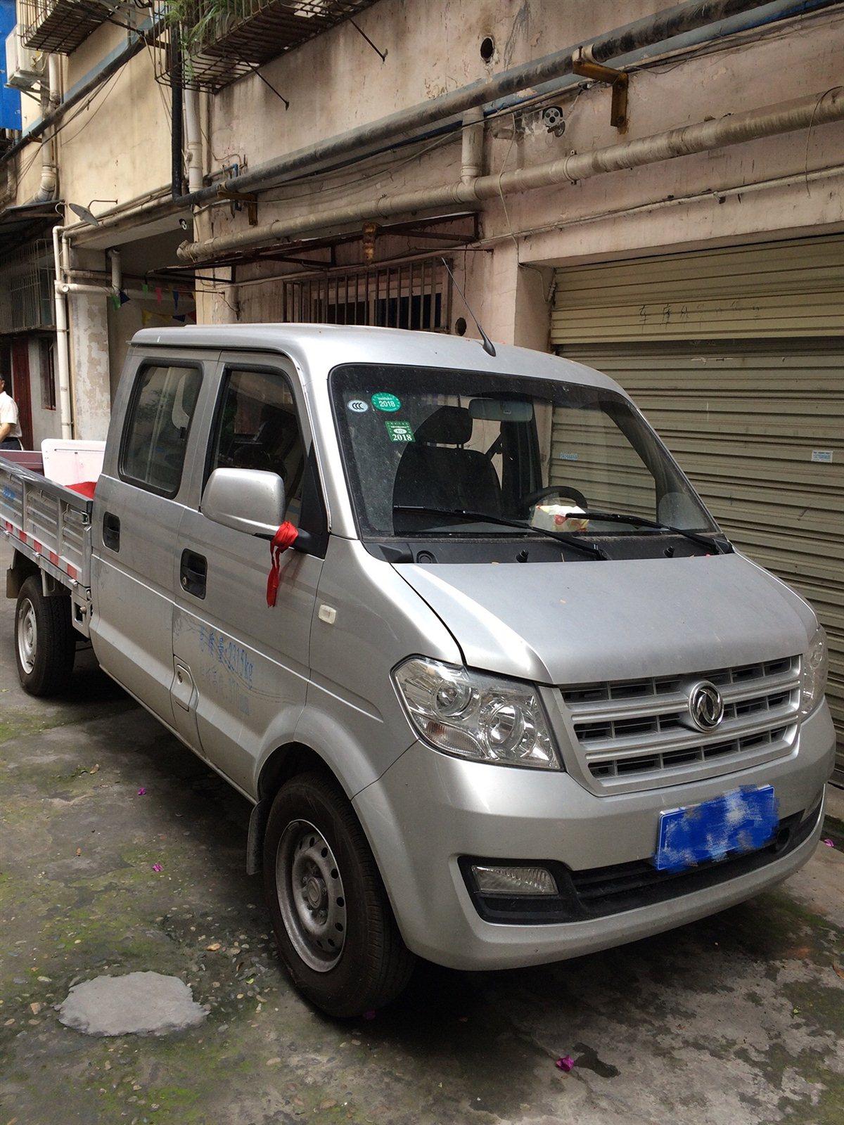 东风小康C32双排小货车高清图片