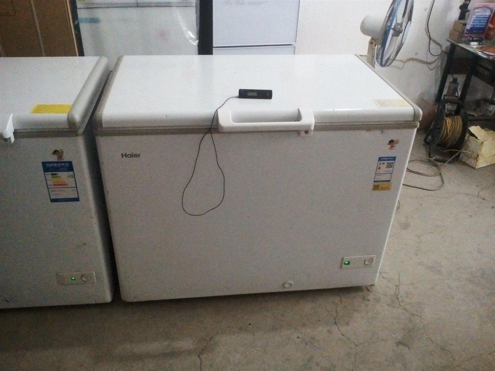 低价出售一台全新磕碰海尔冰柜