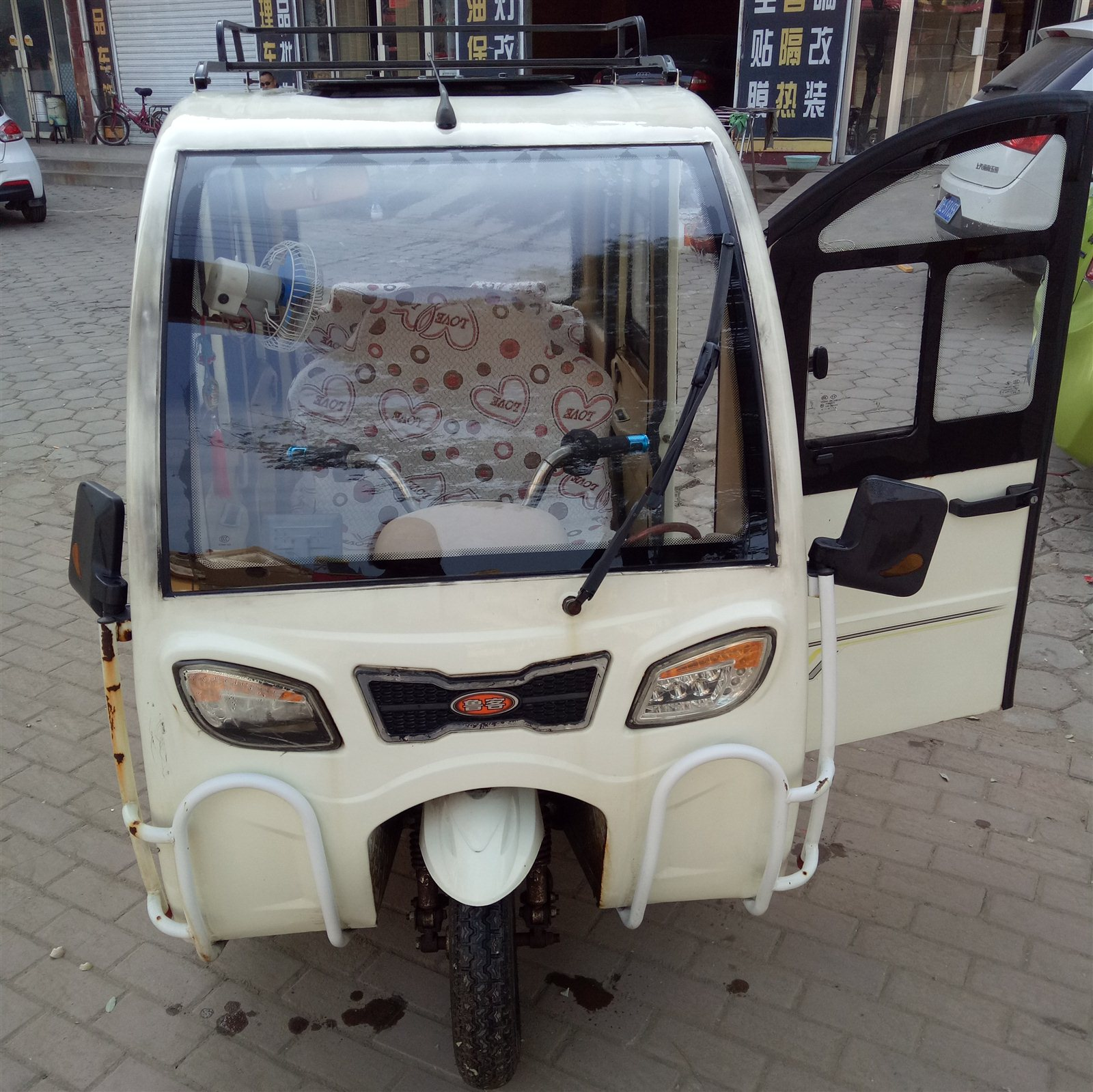 出售电动三轮车