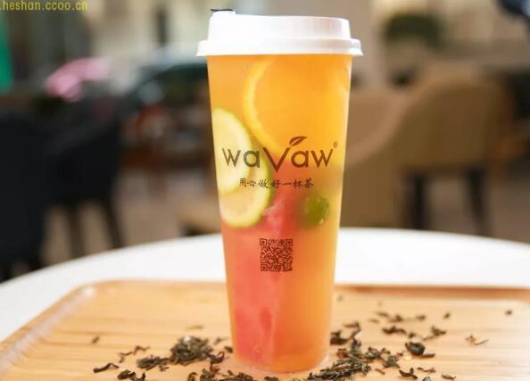 【waVaw】鹤山本土茶饮自主品牌waVaw,来啦!
