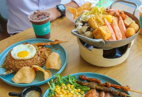 【Fullthai富泰】鹤山新开的东南亚主题快餐厅