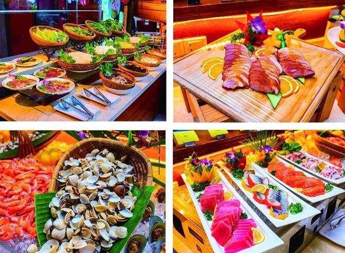 【鹤山碧桂园凤凰酒店】重磅推出宫廷季海鲜自助晚餐