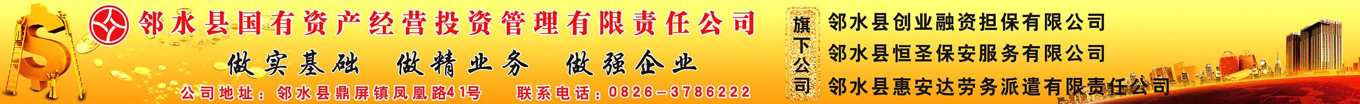 邻水县国有资产经营投资管理有限责任公司