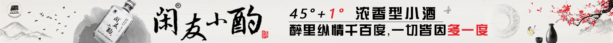 四川百年皇坛酒业有限公司之闲友小酌酒
