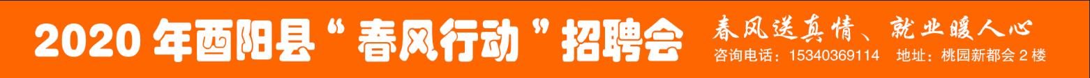 """2020年1月16号-19号""""春风行动""""招聘会"""