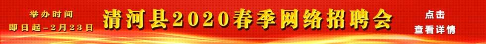 清河县2020年春季大型招聘会