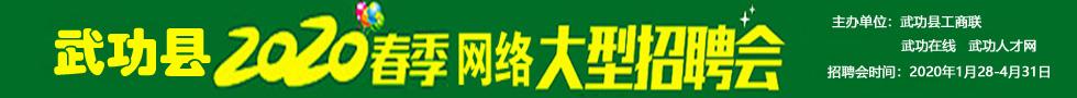 2020年武功县春季大型网络招聘会