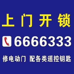 开锁6666333