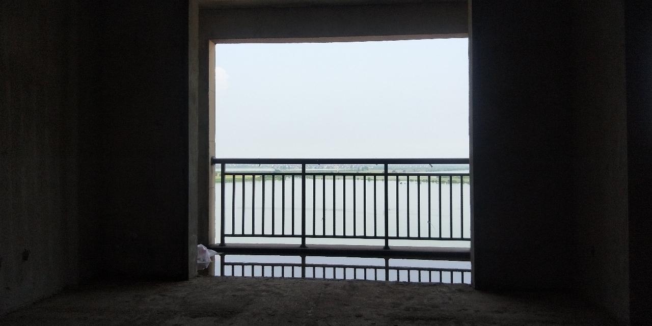 桃花源纪电梯好楼层前排湖景房满2年急售
