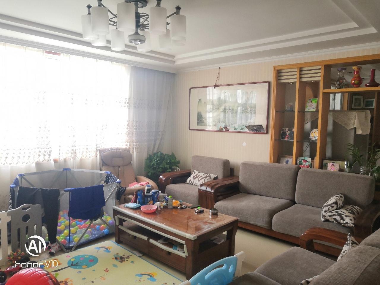 城西学区房,瑞阳小区4楼,精装4室,150平+车库