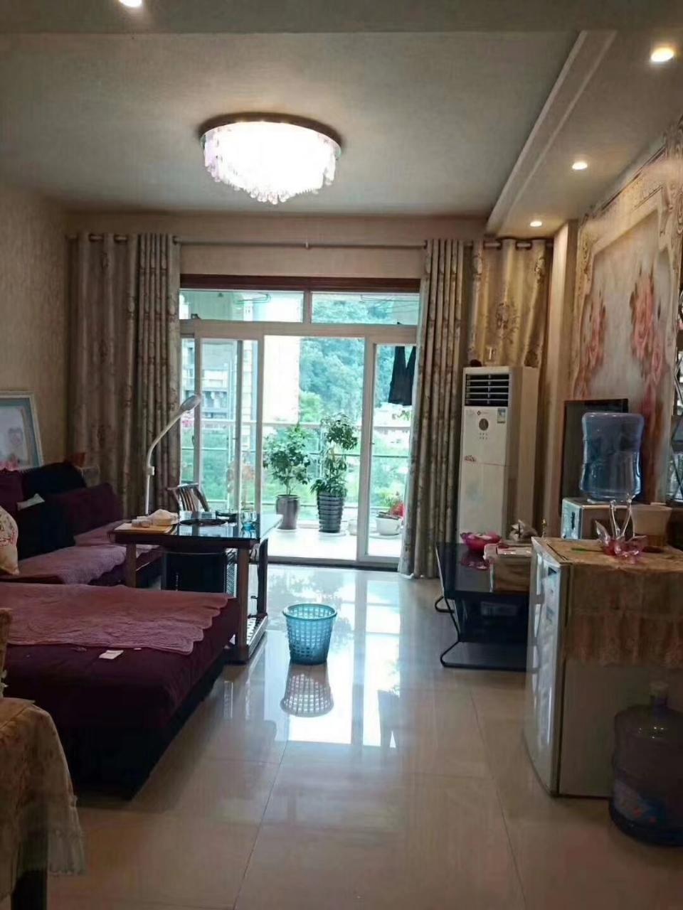 阳光花园精装三室,拎包入住,103平喊价62.8