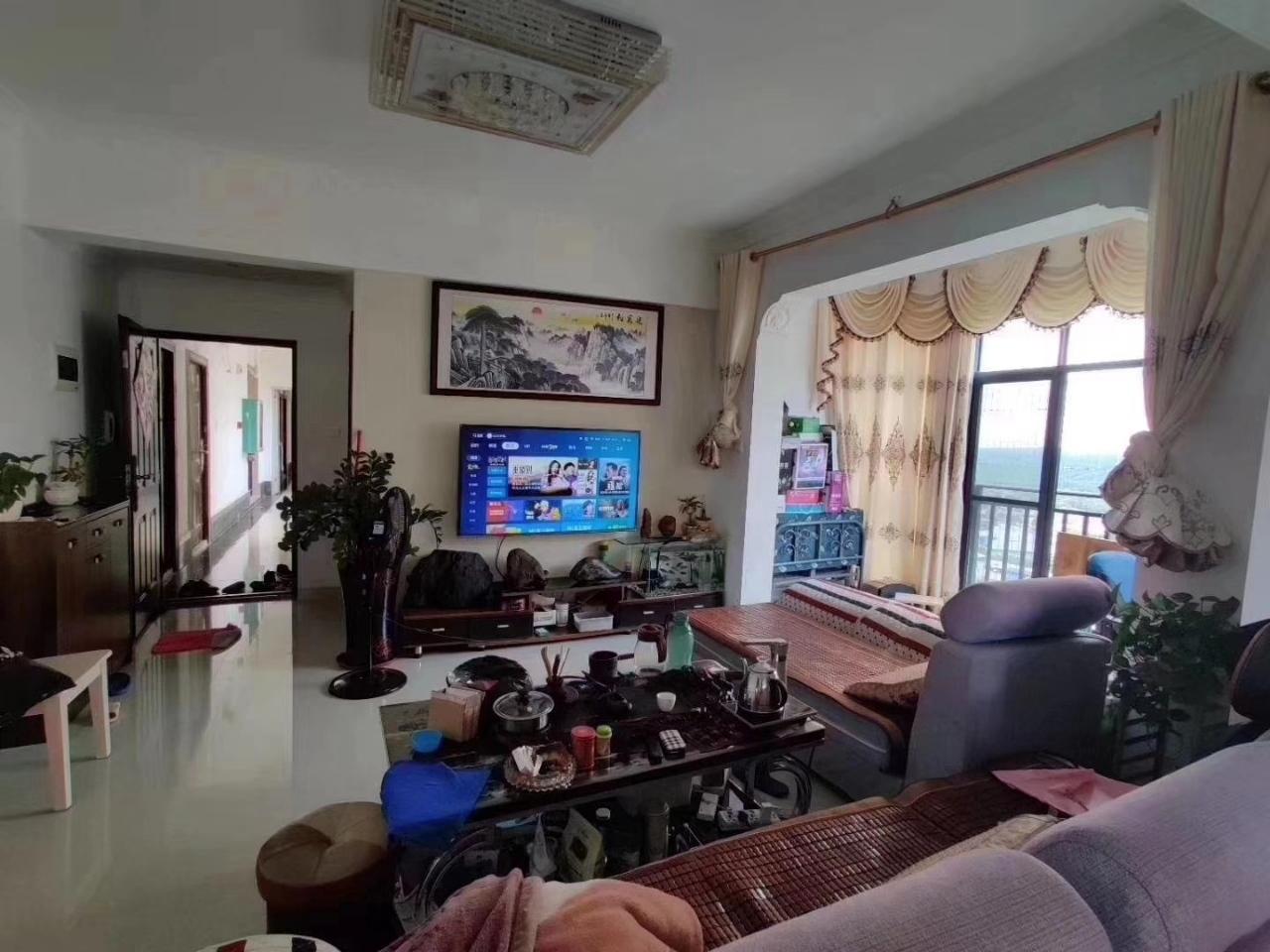 兆南熙园83平精装两房高楼层视野好国标泳池
