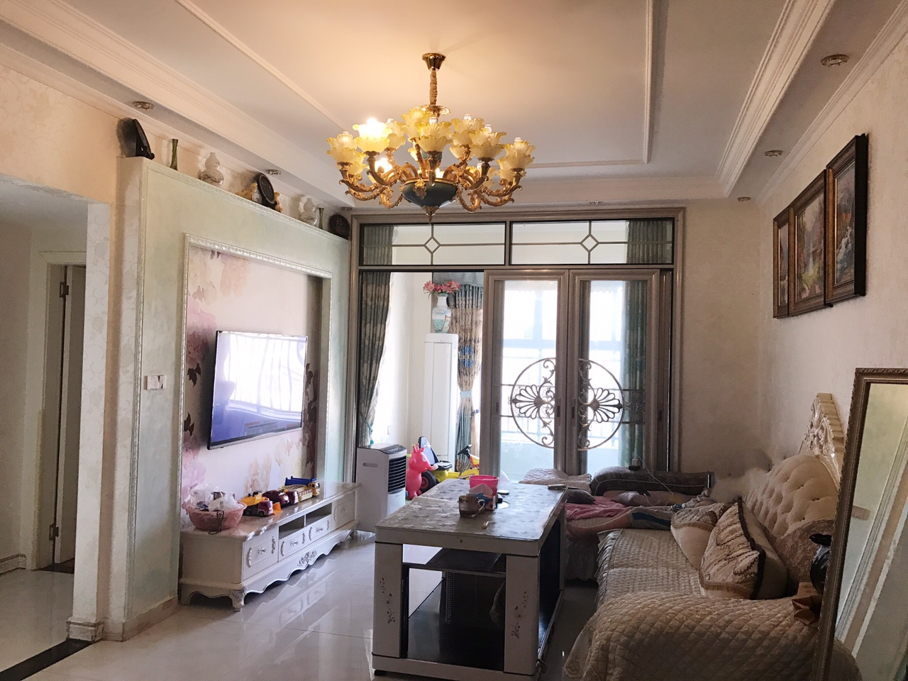 中央府邸精装修84平米2室2厅1卫直降8万