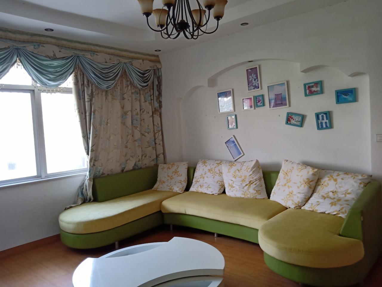 康樂大道近百合水景低層3室2廳1衛裝修新拎包入住