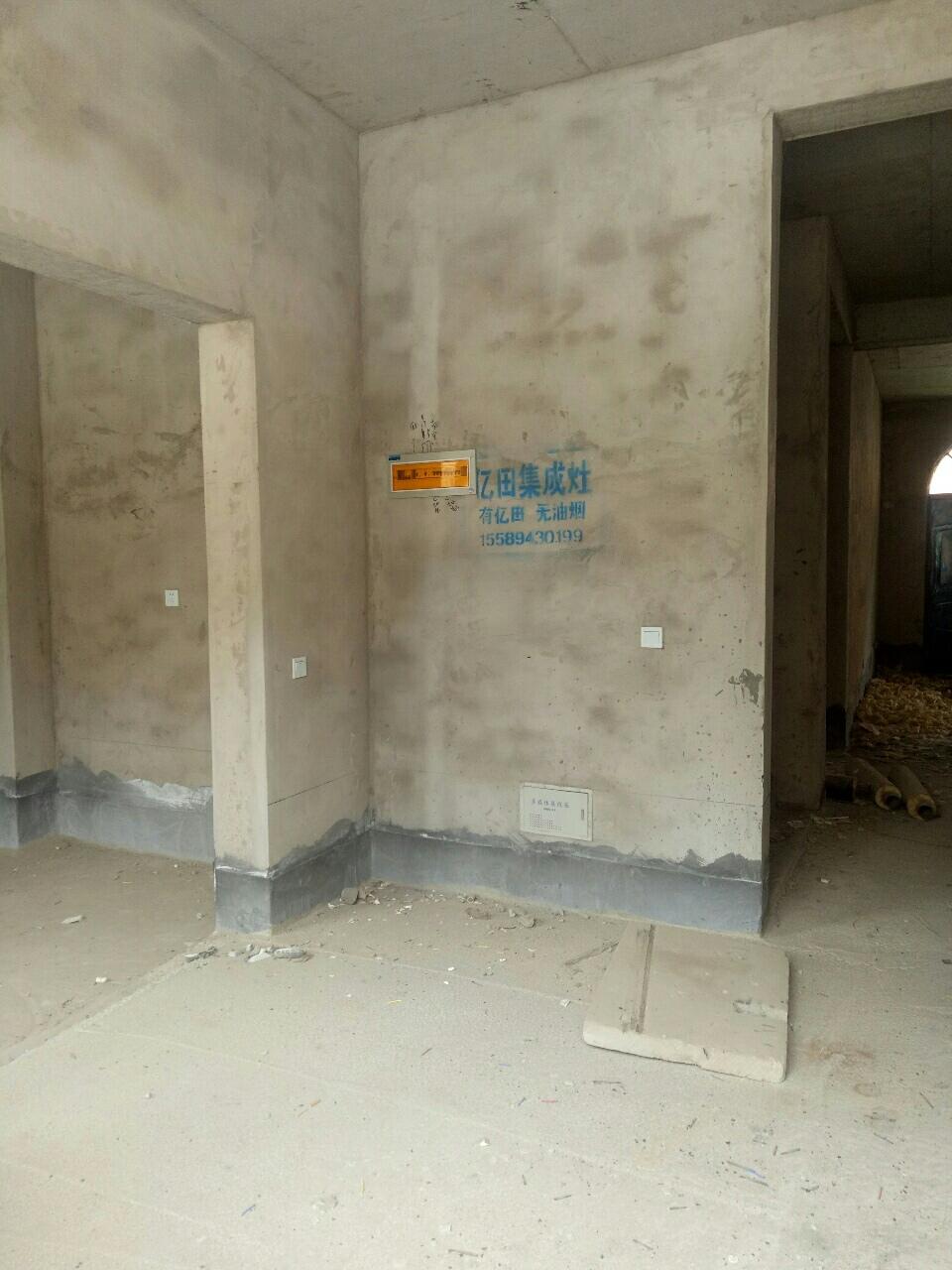 白军庄毛坯一口价17万3室2厅1卫无储4楼