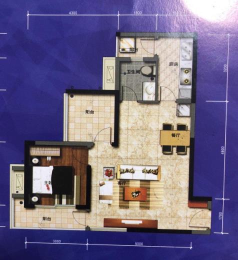 水榭丹堤2室1厅1卫50万元