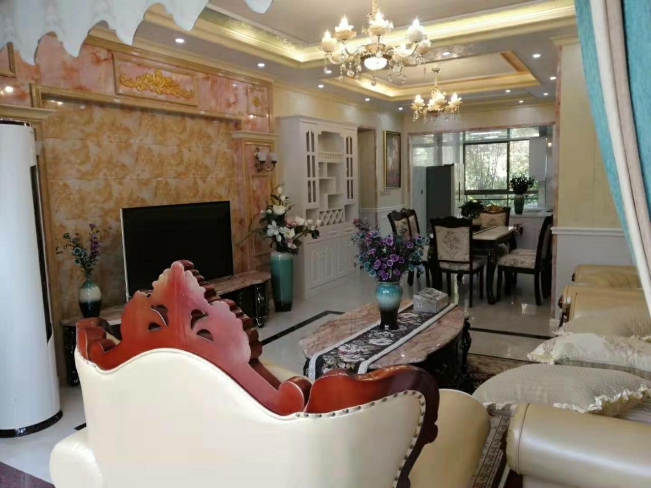 藍橋圣菲高檔集成墻4房出售帶家具家電花園洋房