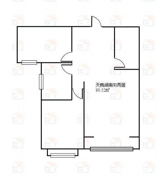 天鹅湖两居室仅售5800一平米赠地下室