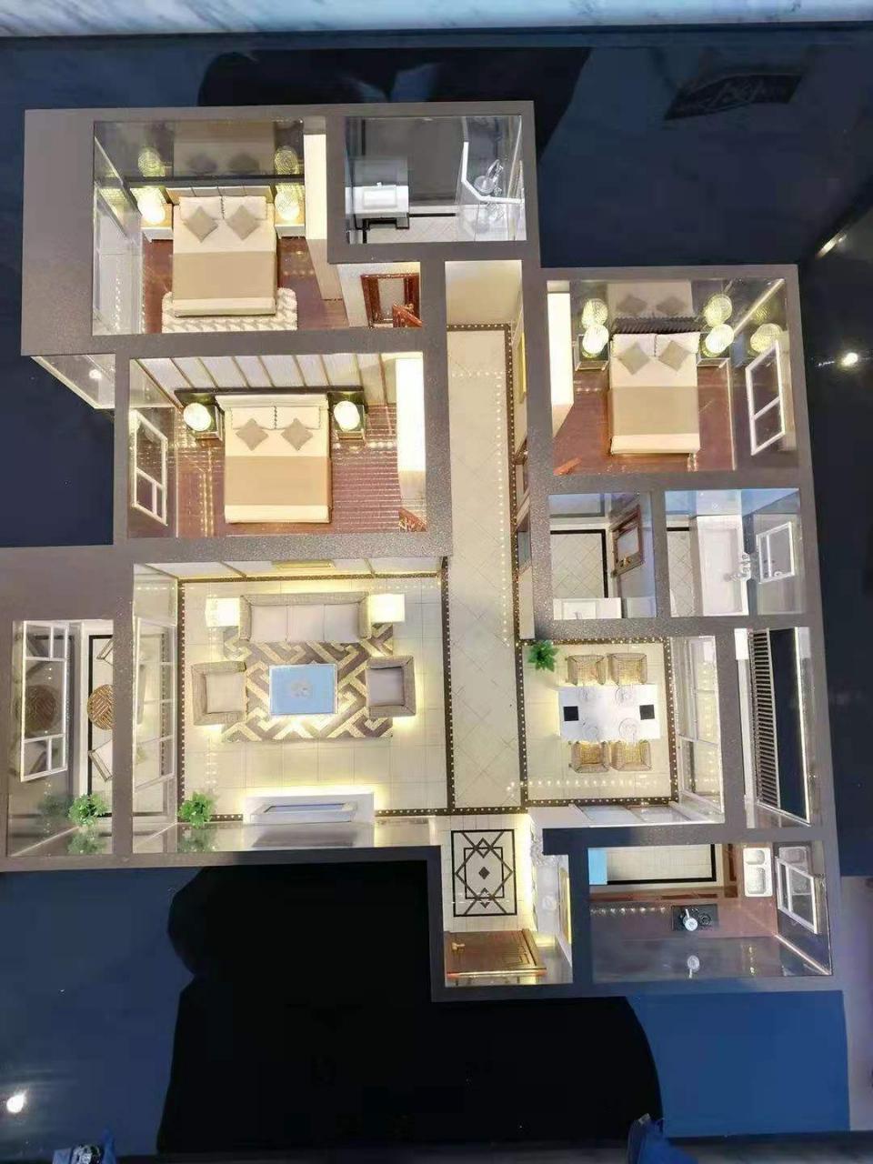 昆仑城3室2厅127平6200一楼王好首付47万