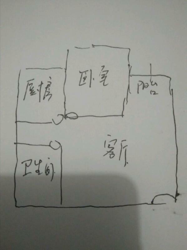 日上滨湖小区1室 1厅 1卫50万元