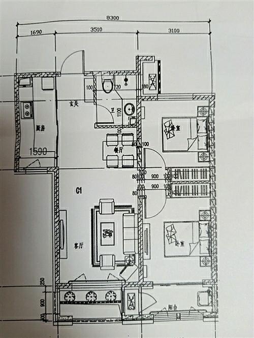 东润风景2室 1厅 1卫37万元