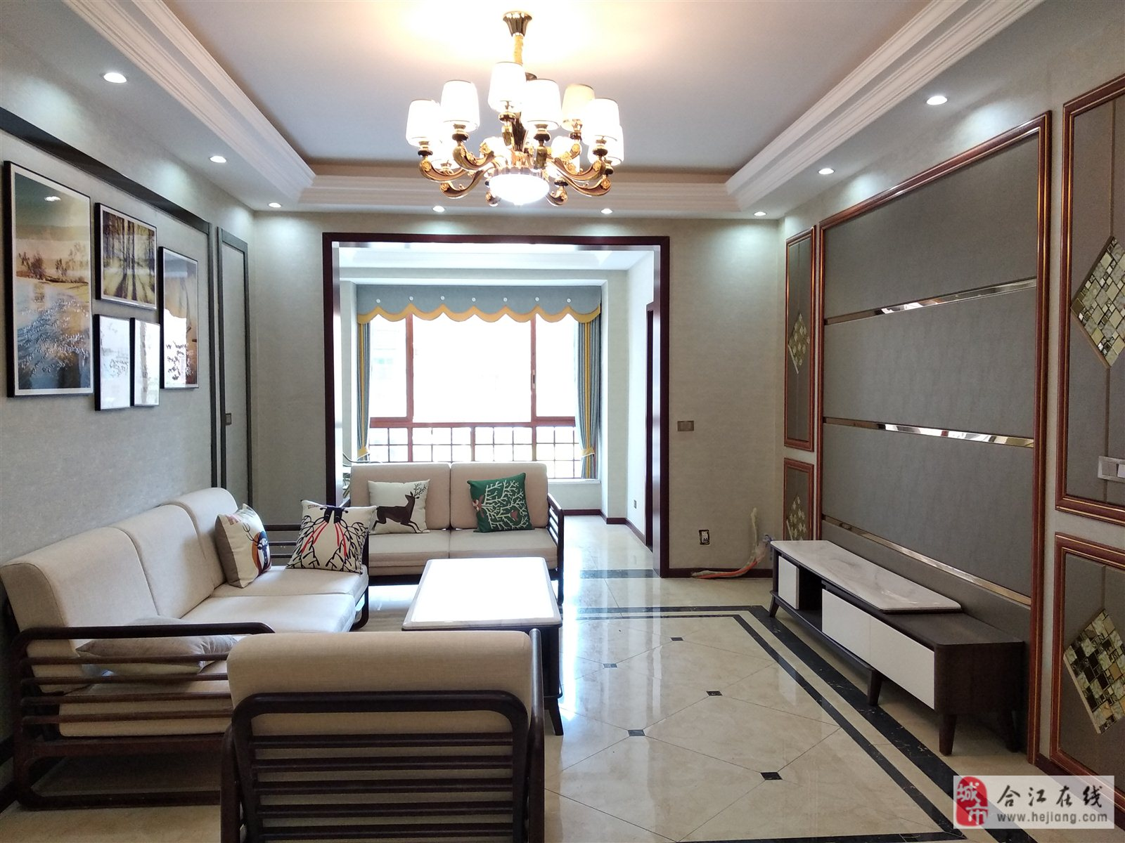 福地城二期精装3室 2厅 2卫78.8万元