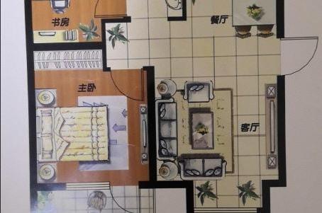 荣盛·馨河郦舍2室 2厅 1卫45万元