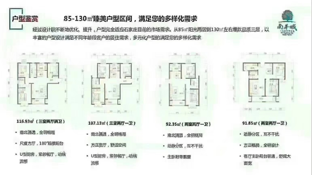 南华城2室 2厅 1卫76万元