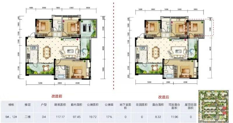天府金融港4室 2厅 2卫140万元