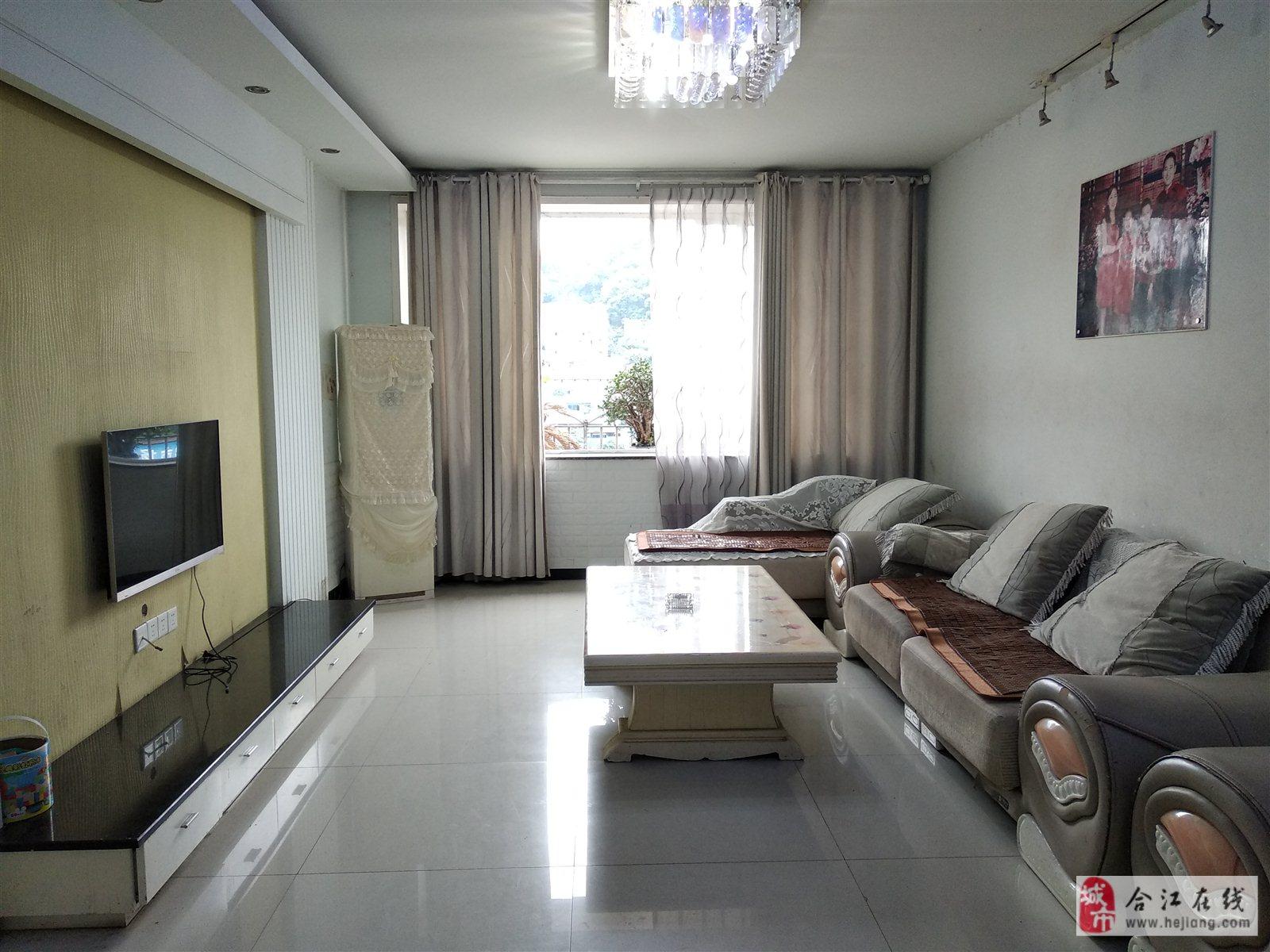 小河边滨河小区4楼3室 2厅 2卫42.8万元