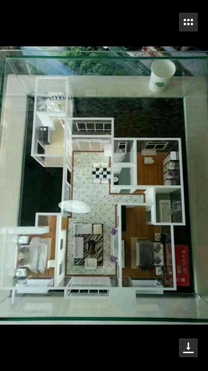 富力湖3室 2厅 2卫92万元