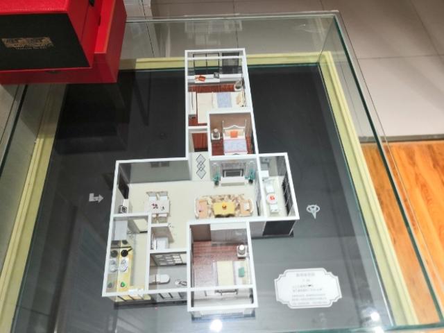 新明珠花园售楼3室 2厅 2卫60万元