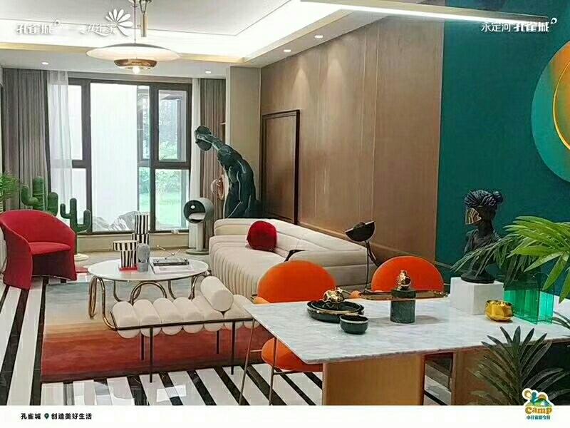 固安孔雀城空港一號,首付8萬,拎包入住,精裝單公寓