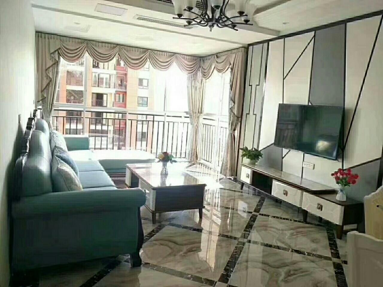 云玺台清水房全新装修,带家具家电出售,3室 2厅 2卫86万元