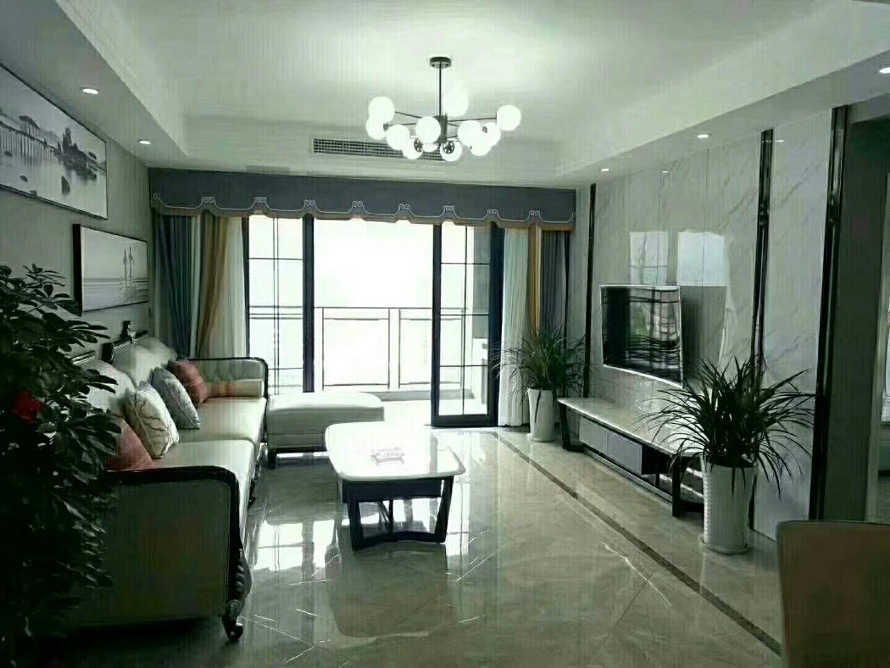 丽君现代城,豪华装修带家具家电出售3室 2厅 2卫116万元
