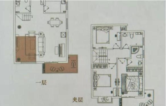 澜泊湾小区3室 2厅 3卫107万元