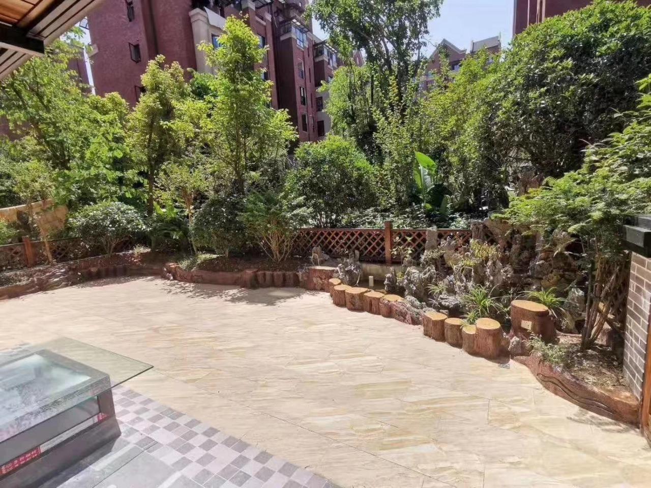 國興純洋房豪華裝修  帶花園地下室贈送面積大
