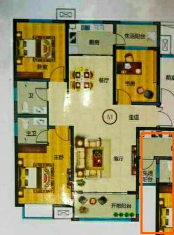 亿合佳苑3室 2厅 2卫59万元