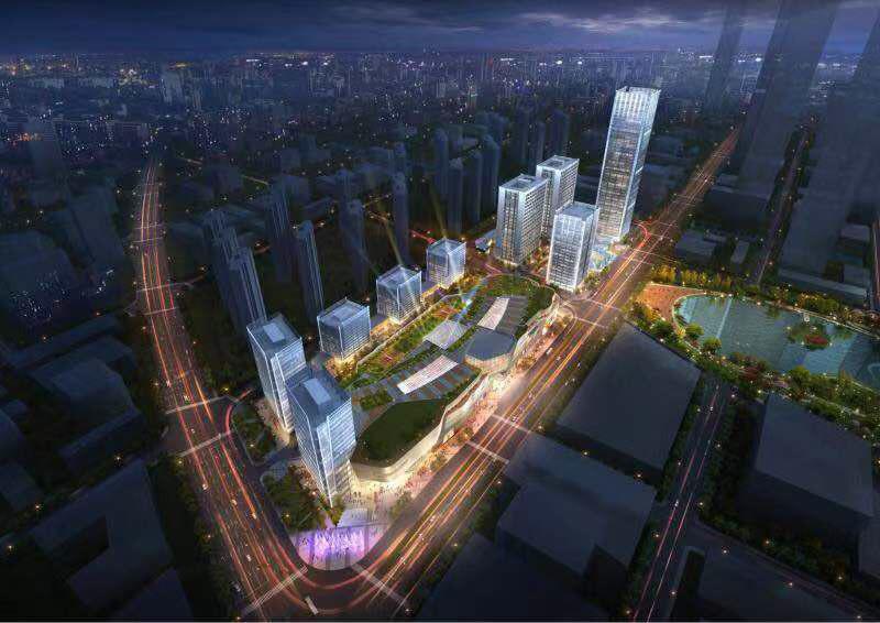 江北新區絕對核心區華潤萬象公館挑高4.8酒店式公寓