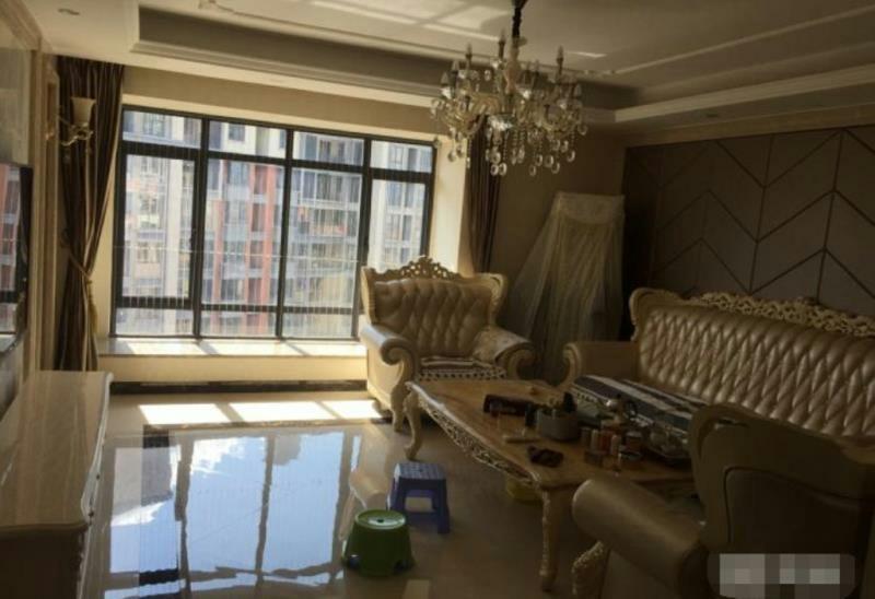 宝龙 豪装4房,高层,192平255万元