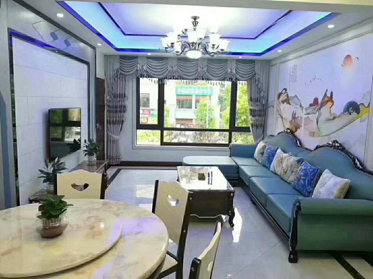 金科天越楼中楼出售,豪华装修,家具家电齐全,4室 2厅 2卫120万元