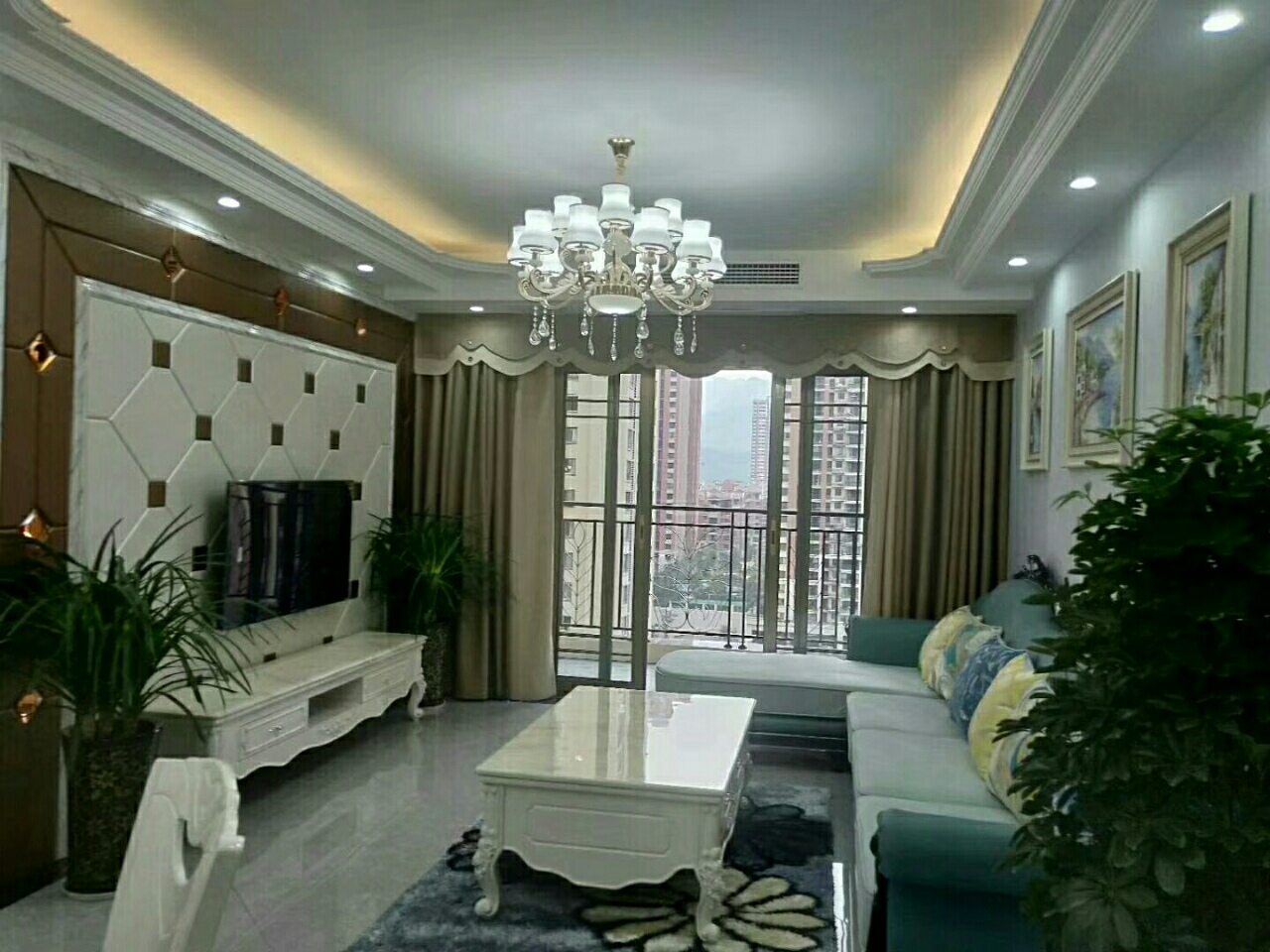 平桥金科四期,精装修,家具家电齐全3室 2厅 2卫106万元
