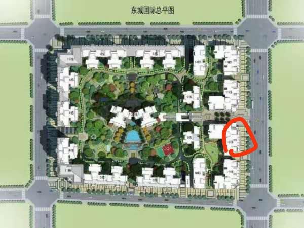 东城国际0室 1厅 1卫168万元