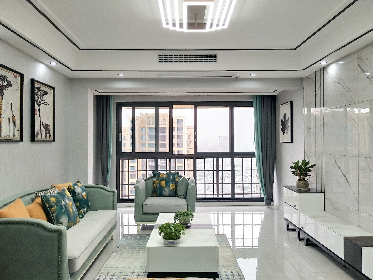 滨江壹号精装3室,学区房,面向中庭,全屋品牌打造
