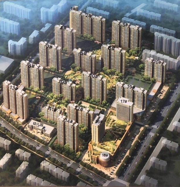 固安水木藍山,年底交房,核心區,交通便利