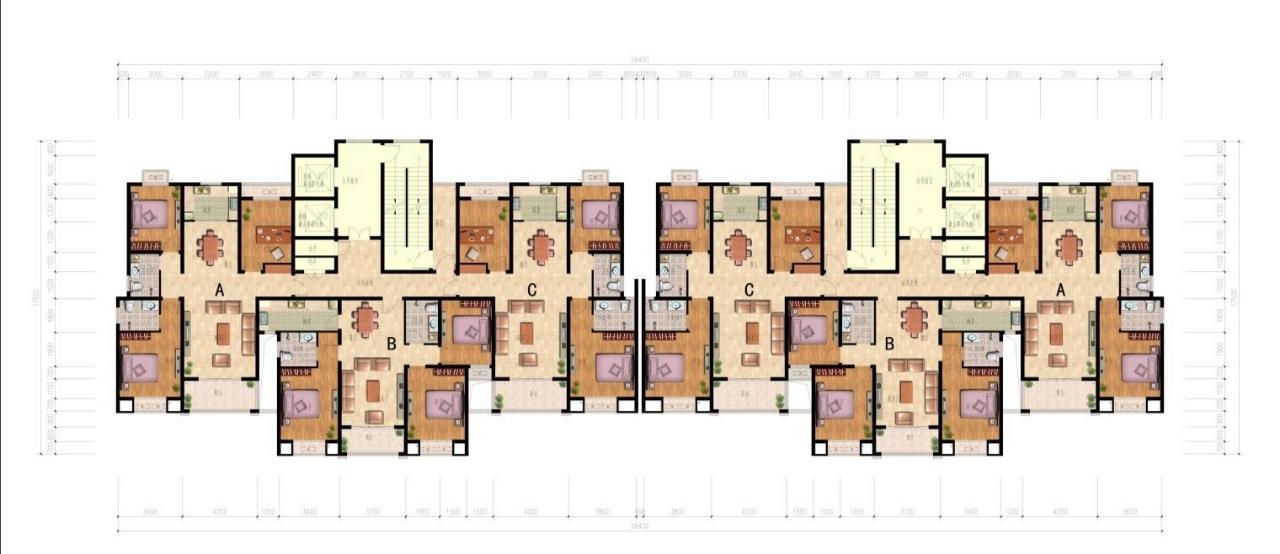 永兴颐景园3室 2厅 2卫53.3万元