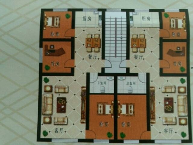 银星景园3室 2厅 1卫34.6万元