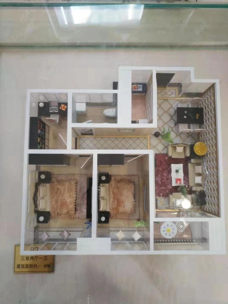 奥园广场3室 1厅 1卫面议